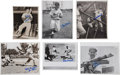 Baseball Collectibles:Photos, Stan Musial Signed Original Photographs Lot of 31....