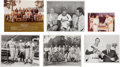 Baseball Collectibles:Photos, Stan Musial Original Photographs Lot of 53....