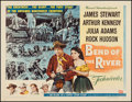 """Movie Posters:Western, Bend of the River (Universal International, 1952). Half Sheet (22"""" X 28"""") Style B. Western.. ..."""