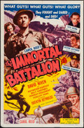 "Movie Posters:War, The Way Ahead (Rogers and Unger, R-1954). One Sheet (27"" X 41"").AKA The Immortal Battalion. War.. ..."