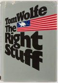 Books:Americana & American History, Tom Wolfe. The Right Stuff. New York: Farrar, Straus,Giroux, [1979]. First edition, first printing. Publisher's bin...