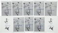 Autographs:Others, Ted Williams Signed Photographic Prints Lot of 10 from The StanMusial Collection.. ...