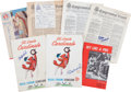 Autographs:Others, 1963 Stan Musial Retirement Lot with Autographs from The StanMusial Collection....