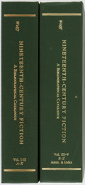 Books:Books about Books, [Books About Books]. Robert Lee Wolff. Nineteenth-Century Fiction... New York: Garland, 1981. Reprint. Two volumes. ... (Total: 2 Items)