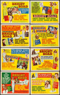 "Movie Posters:Black Films, Bright Road (MGM, 1953). Lobby Card Set of 8 (11"" X 14""). BlackFilms.. ... (Total: 8 Items)"