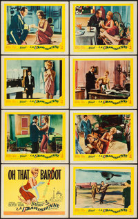 "La Parisienne (United Artists, 1958). Lobby Card Set of 8 (11"" X 14""). Comedy. ... (Total: 8 Items)"