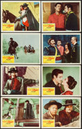 """Movie Posters:Adventure, The Sign of Zorro (Buena Vista, 1960). Lobby Card Set of 8 (11"""" X14""""). Adventure.. ... (Total: 8 Items)"""