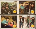 """Movie Posters:Western, The Outlaw (20th Century Fox, 1941). Lobby Cards (4) (11"""" X 14""""). Western.. ... (Total: 4 Items)"""