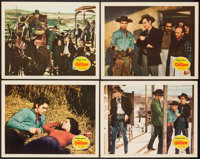 """The Outlaw (20th Century Fox, 1941). Lobby Cards (4) (11"""" X 14""""). Western. ... (Total: 4 Items)"""