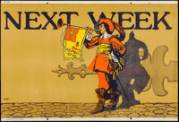 """Next Week (Mather and Company, 1923). Motivational Poster (28"""" X 41.5""""). Miscellaneous"""