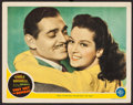 "Movie Posters:Adventure, They Met in Bombay (MGM, 1941). Lobby Card (11"" X 14""). Adventure....."