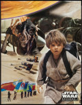"""Movie Posters:Science Fiction, Star Wars: Episode I - The Phantom Menace (20th Century Fox, 1999). Taco Bell Poster Set of 4 (17"""" X 22""""). Science Fiction.... (Total: 4 Items)"""