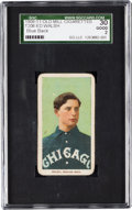 Baseball Cards:Singles (Pre-1930), 1909-11 T206 Old Mill Ed Walsh SGC 30 Good 2 - Unique Blue Back!...