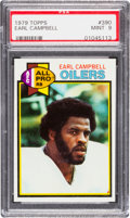 Football Cards:Singles (1970-Now), 1979 Topps Earl Campbell #390 PSA Mint 9....