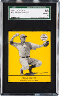 Baseball Cards:Singles (1940-1949), 1941 Goudey Frank Hayes #13 SGC 88 NM/MT 8 - Pop One, Highest SGCExample! ...