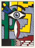 Post-War & Contemporary:Contemporary, ROY LICHTENSTEIN (American, 1923-1997). American Indian ThemeIII, 1980. Woodcut in colors on handmade Suzuki paper. 26-...