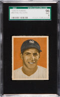 Baseball Cards:Singles (1940-1949), 1949 Bowman Phil Rizzuto, No Name #98 SGC 96 Mint 9 - Pop Two, NoneHigher. ...
