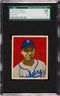 Baseball Cards:Singles (1940-1949), 1949 Bowman Gil Hodges #100 SGC 96 Mint 9 - Pop Two, None Higher....