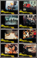 """Movie Posters:James Bond, Diamonds are Forever (United Artists, 1971). Lobby Card Set of 8 (11"""" X 14""""). James Bond.. ... (Total: 8 Items)"""