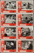 "Movie Posters:Crime, The Killers (Universal, 1964). Lobby Card Set of 8 (11"" X 14"").Crime.. ... (Total: 8 Items)"