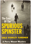 Books:Mystery & Detective Fiction, Erle Stanley Gardner. INSCRIBED. The Case of the SpuriousSpinster. New York: Morrow, [1961]. First edition. Inscr...