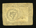 Colonial Notes:Continental Congress Issues, Continental Currency September 26, 1778 $8 Fine....