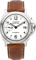 Timepieces:Wristwatch, Panerai Luminor Marina Automatic OP 6529. ...