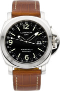 Timepieces:Wristwatch, Panerai Luminor GMT Automatic OP 6524 Ocean Chronometer. ...