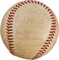 Baseball Collectibles:Balls, 1967-68 St. Louis Cardinals Team Signed Baseball....
