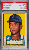 Baseball Cards:Singles (1950-1959), 1952 Topps Joe Astroth #290 PSA NM-MT+ 8.5....