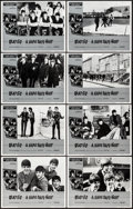 "Movie Posters:Rock and Roll, A Hard Day's Night (Universal, R-1982). Lobby Card Set of 8 (11"" X14""). Rock and Roll.. ... (Total: 8 Items)"