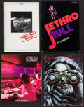 """Movie Posters:Rock and Roll, Jethro Tull (Various, 1974-1982). Souvenir Programs (3) andProduction Manual (Multiple Pages, 9"""" X 12""""). Rock and Roll.. ...(Total: 4 Items)"""