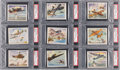 Non-Sport Cards:Sets, 1942 Coca-Cola American Fighting Planes Complete Set (20). ...