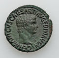 Ancients:Roman Imperial, Ancients: Germanicus, Father of Caligula (died AD 19). Æ as (11.48gm)....