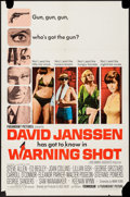 "Movie Posters:Mystery, Warning Shot (Paramount, 1967). One Sheet (27"" X 41"") and LobbyCard Set of 8 (11"" X 14""). Mystery.. ... (Total: 9 Items)"