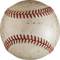 Baseball Collectibles:Balls, 1936 New York Yankees Team Signed Baseball. ...