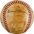 Baseball Collectibles:Balls, 1979 New York Yankees Team Signed Baseball....