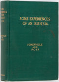 Books:Literature Pre-1900, Edith Anna Œnone Somerville and Martin Ross [Violet Martin].Some Experiences of an Irish R.M. New York: Longmans, G...