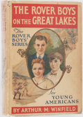 Books:Children's Books, Arthur M. Winfield. The Rover Boys on the Great Lakes.Grosset & Dunlap, 1901. Later impression. Publisher'sdecorat...