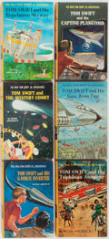 Books:Children's Books, Victor Appleton II. Group of Six Tom Swift Books. Grossetand Dunlap, 1962-1968. Publisher's illustrated cloth w... (Total: 6Items)