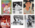 Baseball Collectibles:Photos, Stan Musial Signed Photographs, Clippings, Etc. Lot of 20....