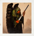 Original Comic Art:Illustrations, Gerald Brom Dark Angel Illustration Original Art (1995). ...