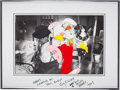 Animation Art:Production Cel, Who Framed Roger Rabbit Production Cel with Gary K. WolfAutograph (Touchstone/Amblin, 1981)....