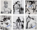 Baseball Collectibles:Photos, Stan Musial Signed Original Photographs and Prints Lot of 21....