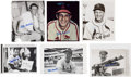 Baseball Collectibles:Photos, Stan Musial Signed Original Photographs and Advertisements Lot of16....
