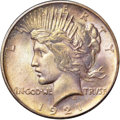 Peace Dollars, 1921 $1 MS66 NGC. CAC....