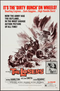 """Movie Posters:Exploitation, The Losers (Fanfare, 1970). One Sheet (27"""" X 41"""") and Mini LobbyCards (8) (8"""" X 10""""). Exploitation.. ... (Total: 9 Items)"""