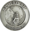 Explorers:Space Exploration, Apollo 12 Flown Silver Robbins Medallion Originally from thePersonal Collection of Mission Lunar Module Pilot Alan L Bean,Se...