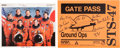 Autographs:Celebrities, Space Shuttle Endeavour (STS-47) Crew-Signed Color Photo and Gate Pass. ... (Total: 2 Items)