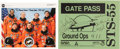 Autographs:Celebrities, Space Shuttle Columbia (STS-55) Crew-Signed Color Photo andGate Pass. ... (Total: 2 Items)